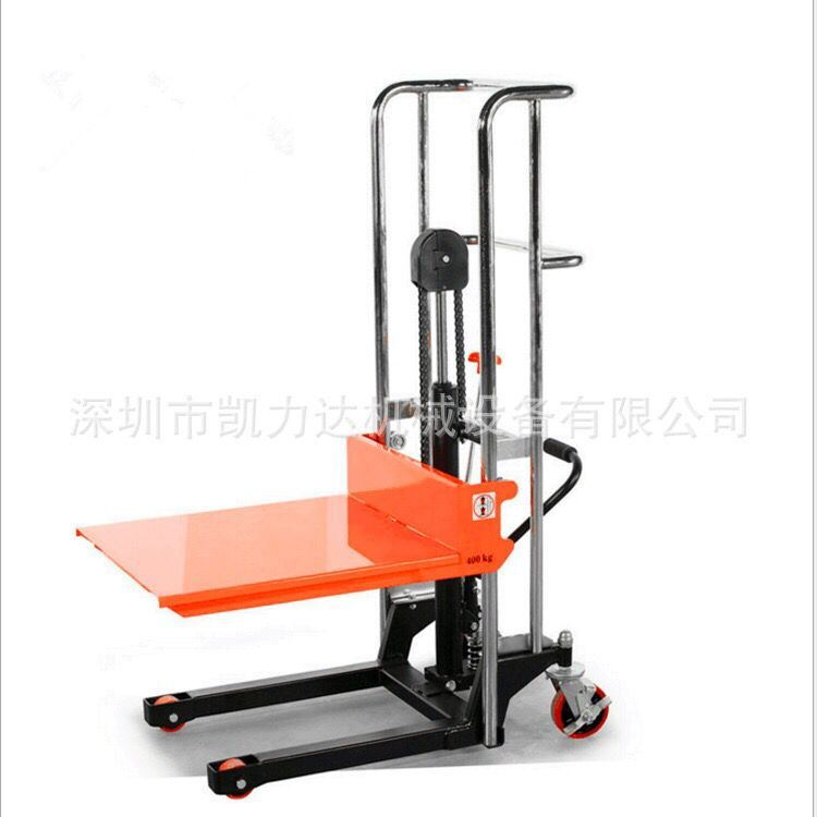 Small Hydraulic Lift Platforms : Usd kg raised m light stacker manual
