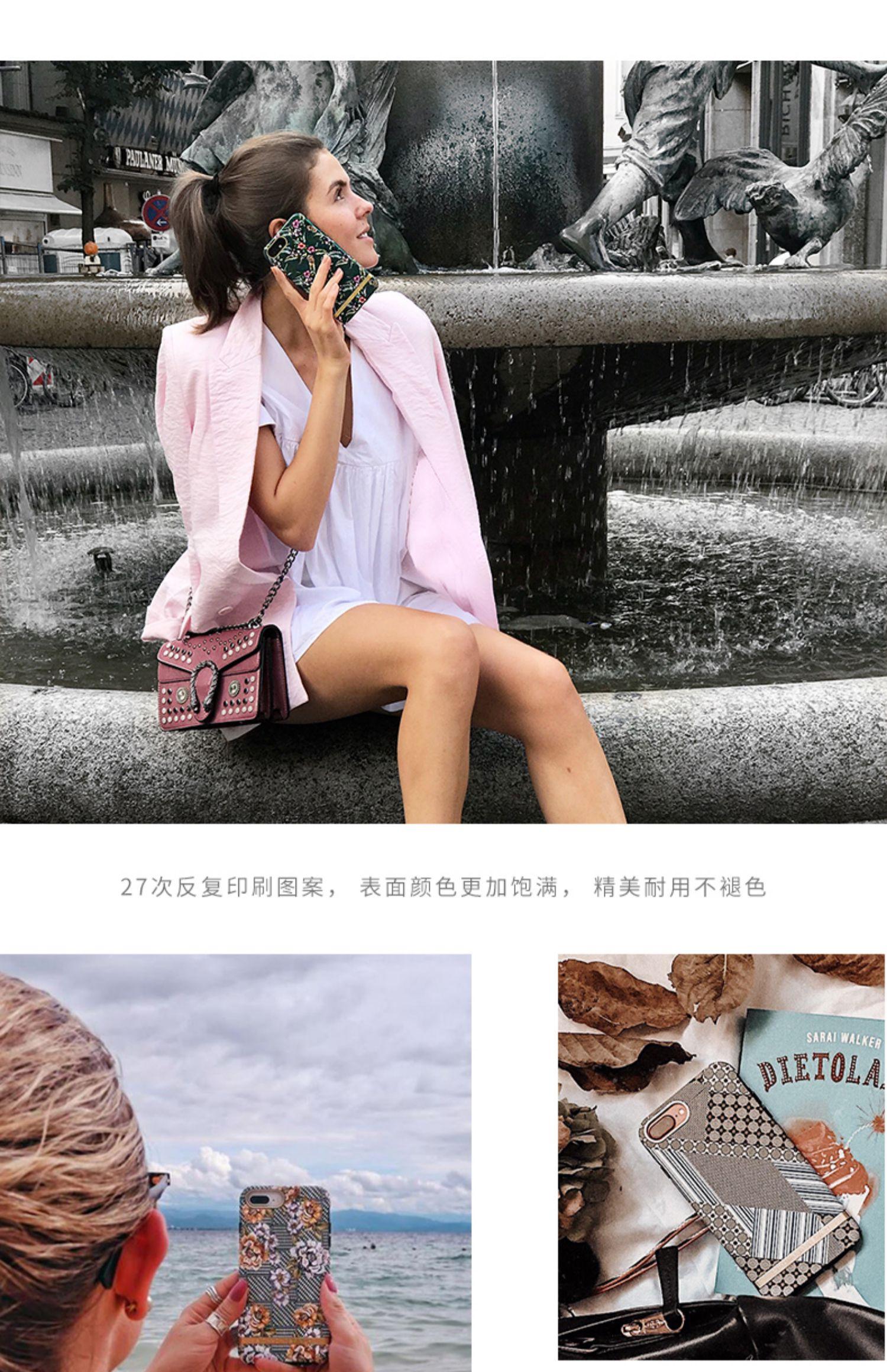 Richmond&Finch自由系列iPhoneXR瑞典轻奢网红双层防摔苹果手机壳商品详情图