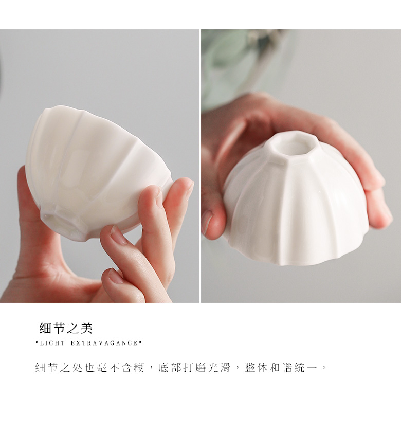 """The Self - """"appropriate content flower expressions using kung fu masters cup sample tea cup cup ceramics single CPU noggin jingdezhen hand by hand"""