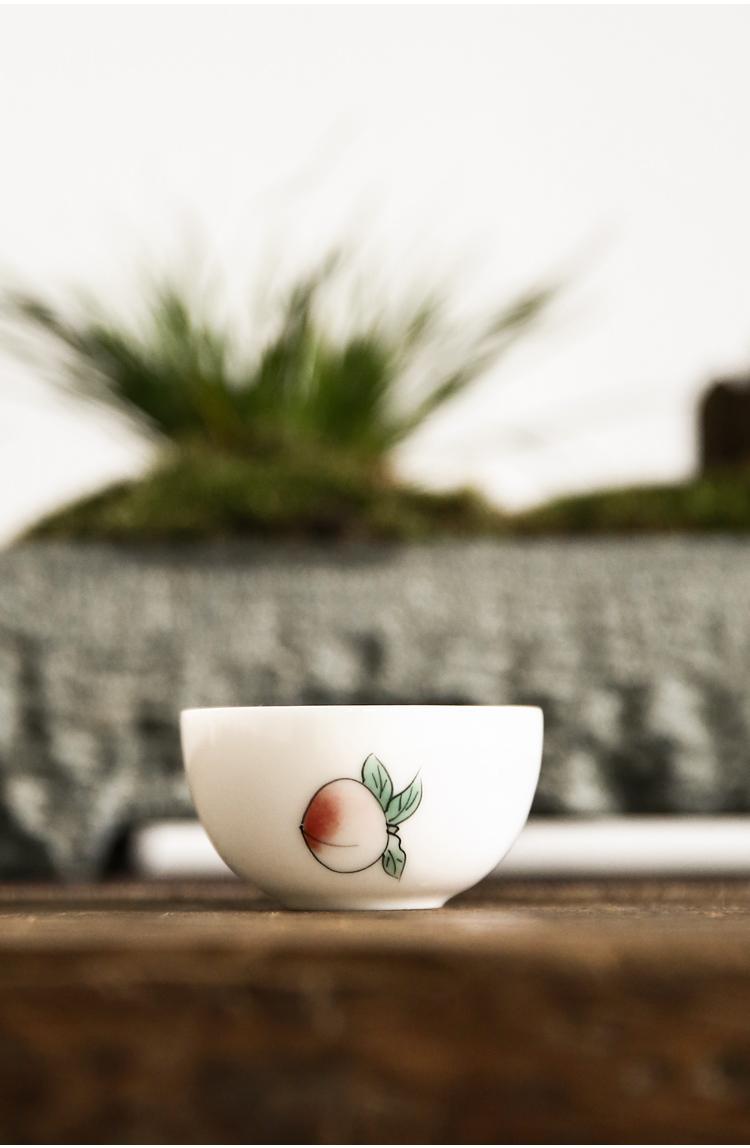 景德镇纯手工三才盖碗家用茶碗日式功夫泡茶碗家用茶杯盖杯茶道