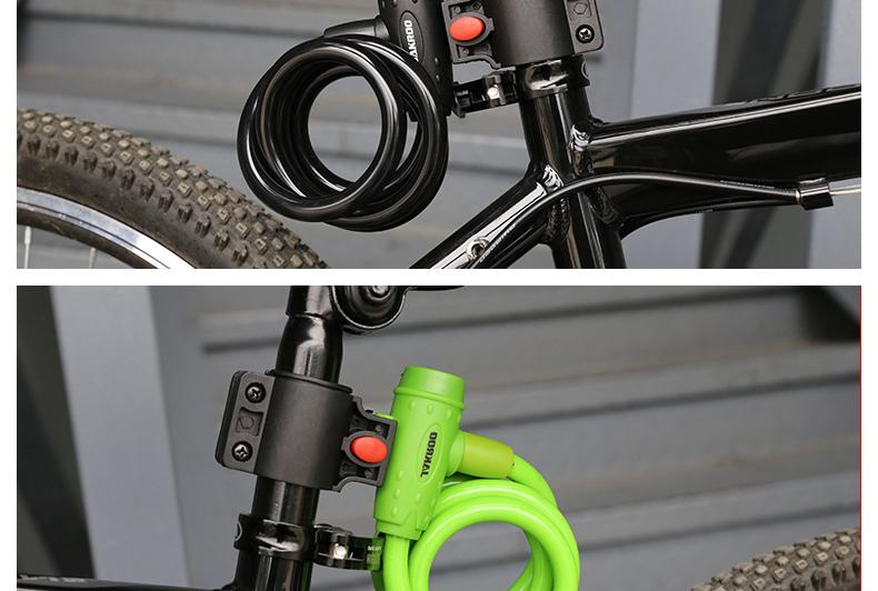 Antivol pour vélo et scooter JAKROO - câble antivol - Ref 2404285 Image 20