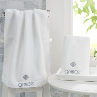 洁丽雅毛巾100%纯棉柔软吸水浴巾