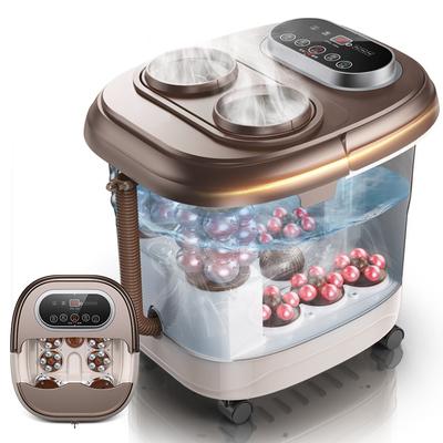 足浴盆全自动按摩洗脚盆恒温器泡脚高深桶电动加热足疗机家用神器