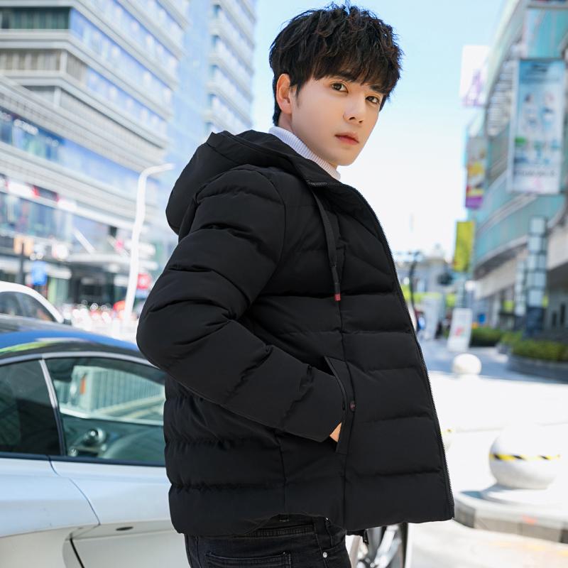 【初策】冬季潮流男士短款羽绒棉衣