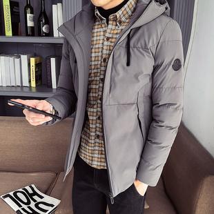男士冬季外套青少年棉衣加厚保暖棉服