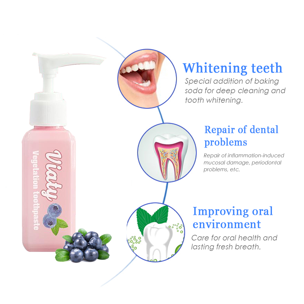 Contains calcium carbonate, a mild abrasive for cleaner, whiter teeth
