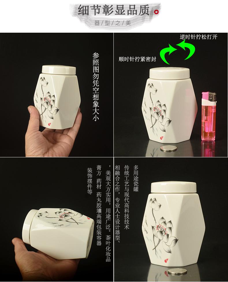 Substance Water chestnut of dehua white porcelain, ceramic tea pot small tea pot honey POTS powder sealed jar of new product promotion