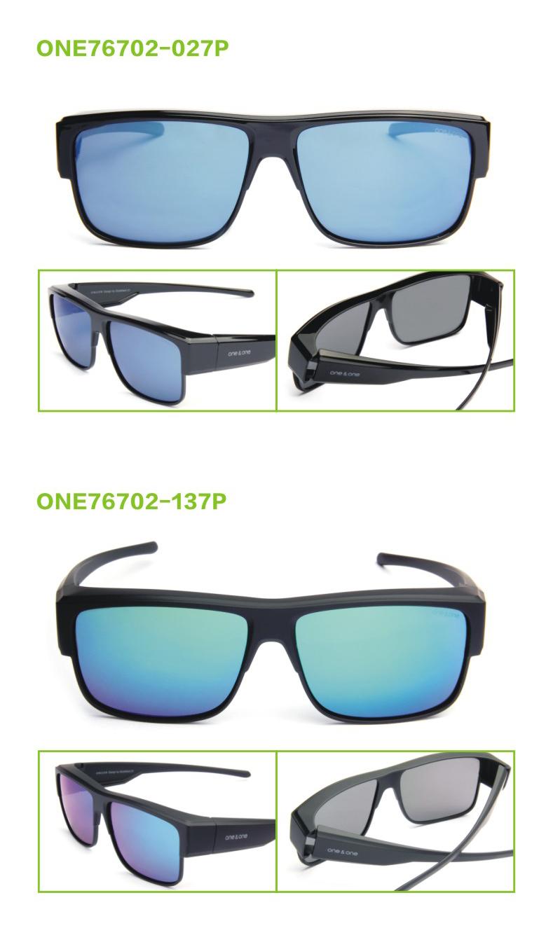 One&One 男女近视偏光太阳镜 套镜 可直接套在近视架上 图6