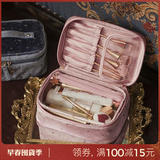 Eachy makeup bag web celebrity large capacity cosmetics storage bag female bag small portable case ins super hot