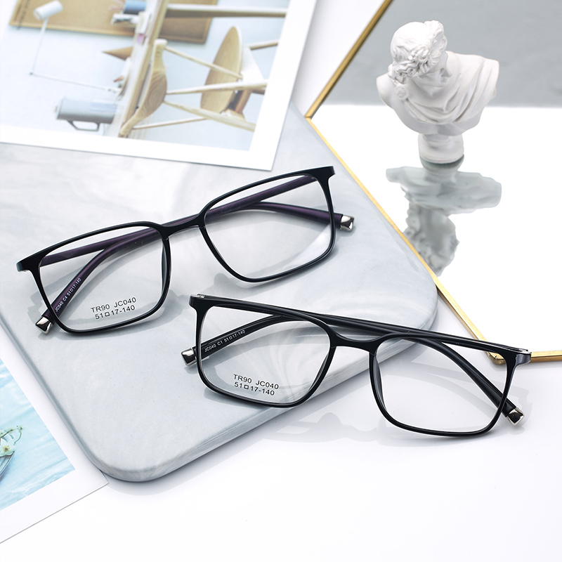 防辐射眼镜框男潮女近视抗蓝光手机电脑保护眼睛无度数平面平光镜(用5元券)