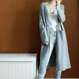 【索莱曼】秋冬新款针织开衫中长款毛衣外套 券后59元包邮