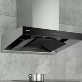 Siemens iQ700 range hood double smoke area self-cleaning smoke stove linkage home interconnection LC88FN95SW