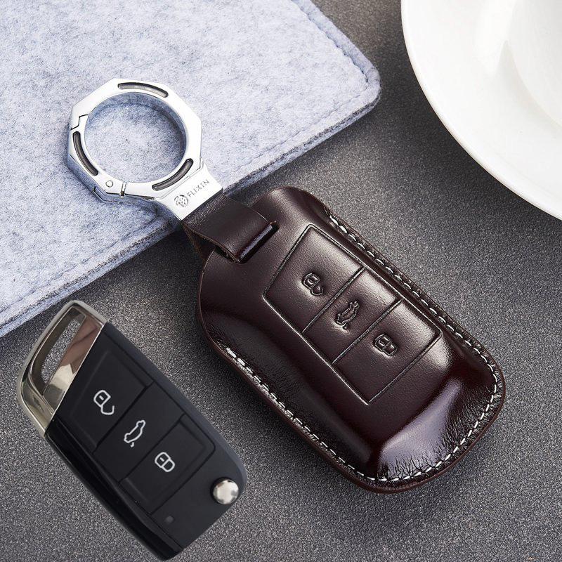 适用于2019款大众帕萨特钥匙包cc真皮19款CC1718款迈腾B8钥匙套