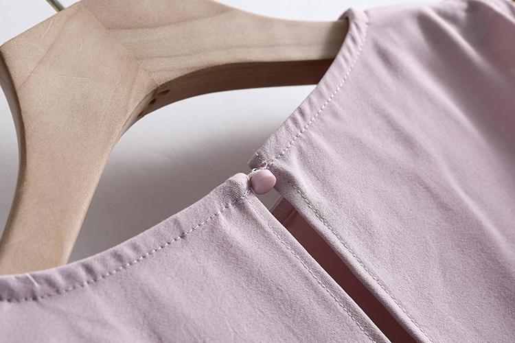 [U series] Cửa hàng giảm giá thương hiệu quần áo nữ 007 2020 hàng mới về mùa xuân mới về váy ngắn tay ngắn trễ vai - Sản phẩm HOT