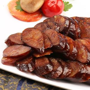 美缀美川味腊肠农家自制烟熏纯腊肉