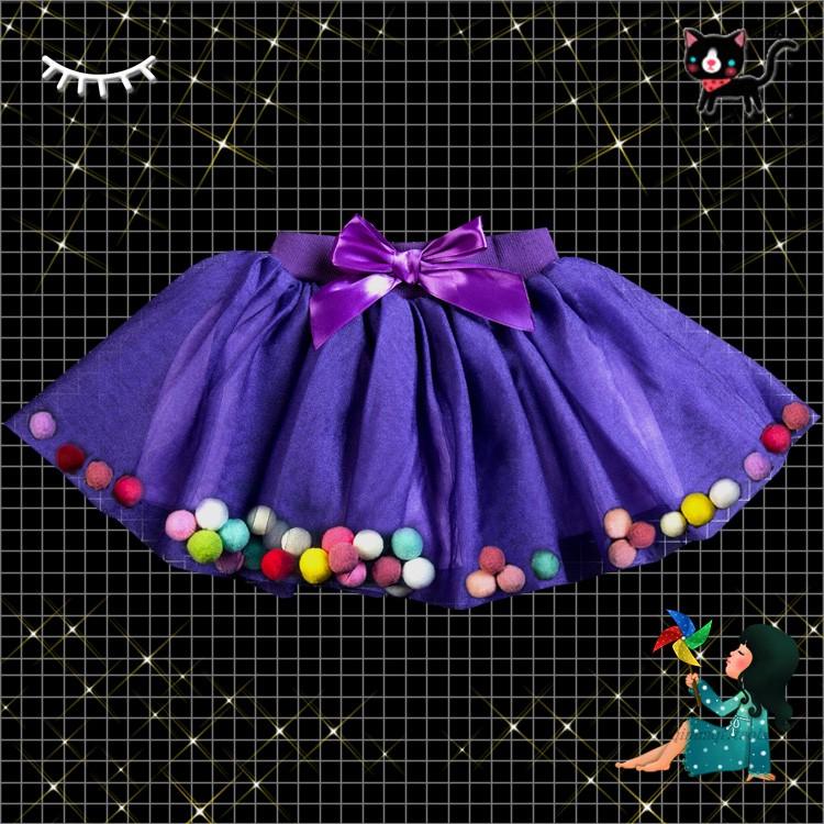 Фиолетовые 40 шариков для волос сиреневый фата