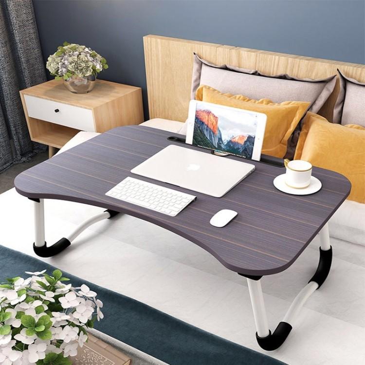 床上书桌折叠桌宿舍学习笔记本电脑桌可折叠懒人桌简易写字小桌子_淘宝优惠券