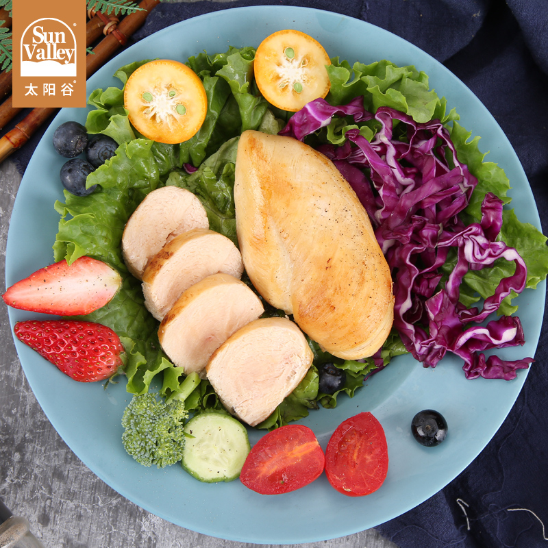 太阳谷鸡胸肉生鲜冷冻鸡肉健身新鲜低脂食品非即食嘉吉鸡脯肉3kg