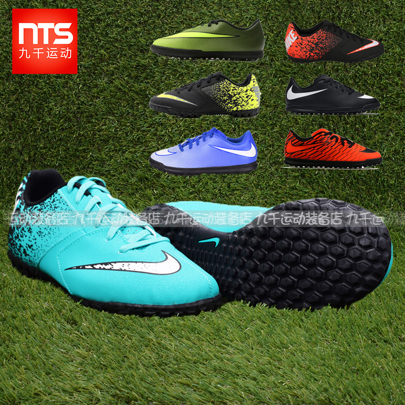 756780ce9 Nine thousand genuine Nike BOMBAX artificial grass TF children boys and  girls broken nail soccer shoes 826488-310