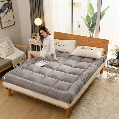 Thick 10cm feather velvet folding student dorm tatami soft mattress 1.5M1.8M0.9 meters