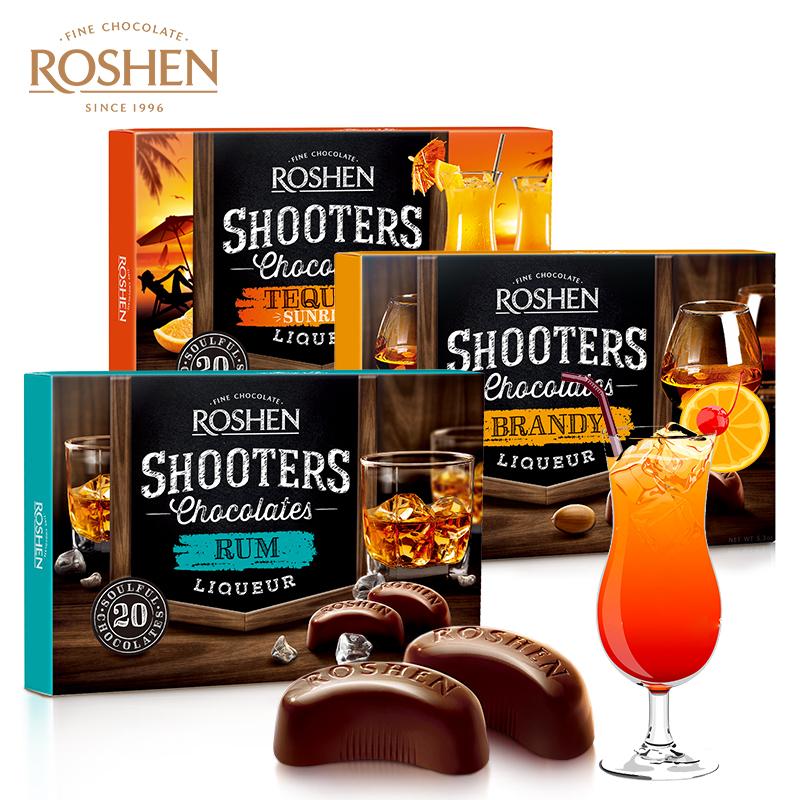 乌克兰进口 ROSHEN 如胜 酒心巧克力 150g*3盒 天猫优惠券折后¥47包邮(¥147-100)