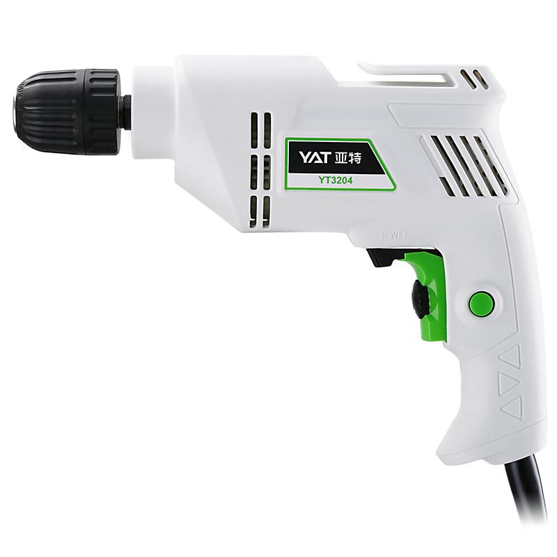 YAT亚特手电钻工业级多功能220V家用电动工具套装手枪钻小型电转_领取80元天猫超市优惠券
