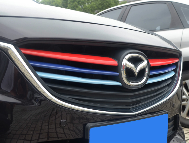 Thanh ốp  trang trí mặt ca lăng và thanh tản nhiệt trước Mazda 6 2017-2018 - ảnh 15