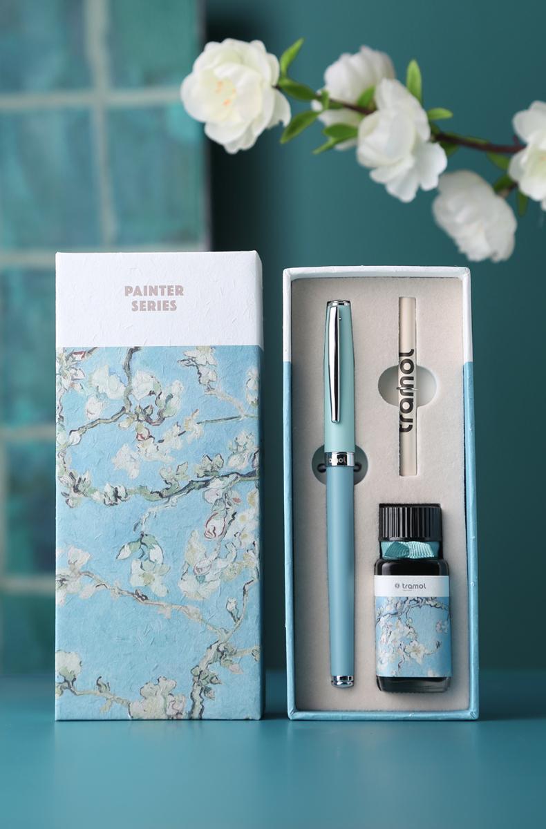 字文艺复古高档精致礼物,tramol梵高系列钢笔