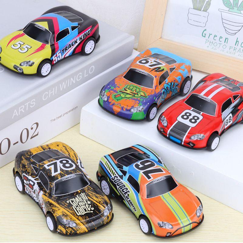 儿童Q版合金车小汽车赛车玩具车礼盒套装