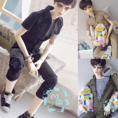 taobao agent BJD baby clothes work clothes one-piece nine-point pants SD13 Pu Shu SD17 three-point three-point three-color into the spot