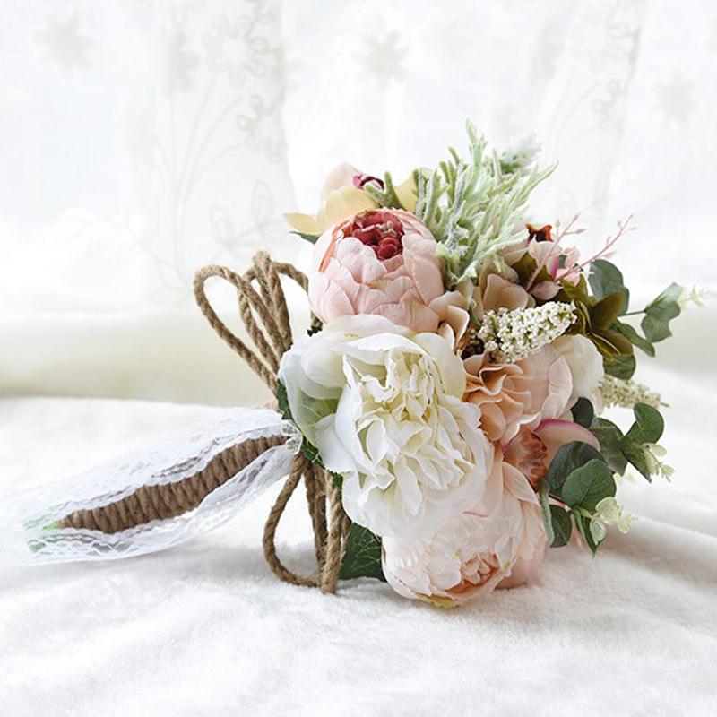 USD 45.10] Sen Department of Korean high-end bride holding flowers ...
