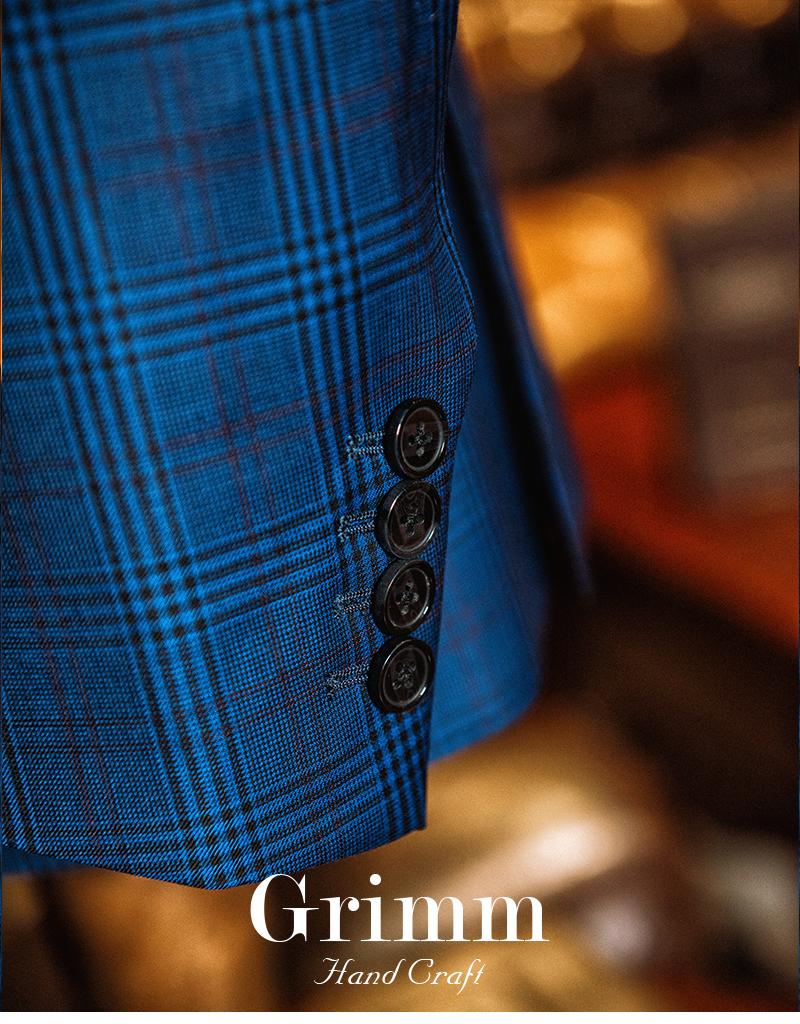 成都量身定制羊毛高级西装商务定做新郎修身男士英伦私人西服套装详情图