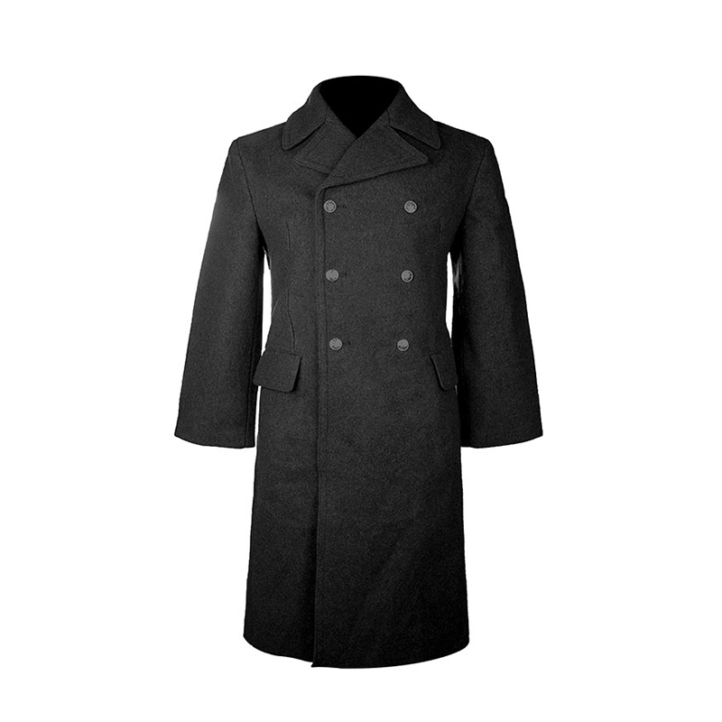 USD 205.77] Military version material Russian wool coat (military ...