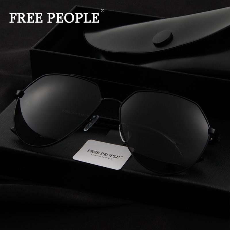 FREE PEOPLE男士偏光太阳镜遮阳镜防眩光司机镜91014