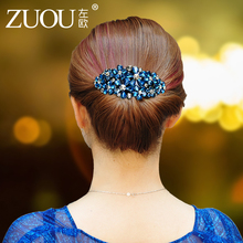Hairpin, adult drill, hairpin, Korean haircut, elegant lady's top clip.