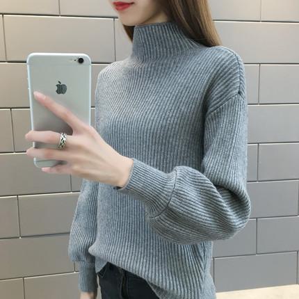 53女装2018夏季新款韩版气质宽松显瘦纯色一字领打底雪纺衫女