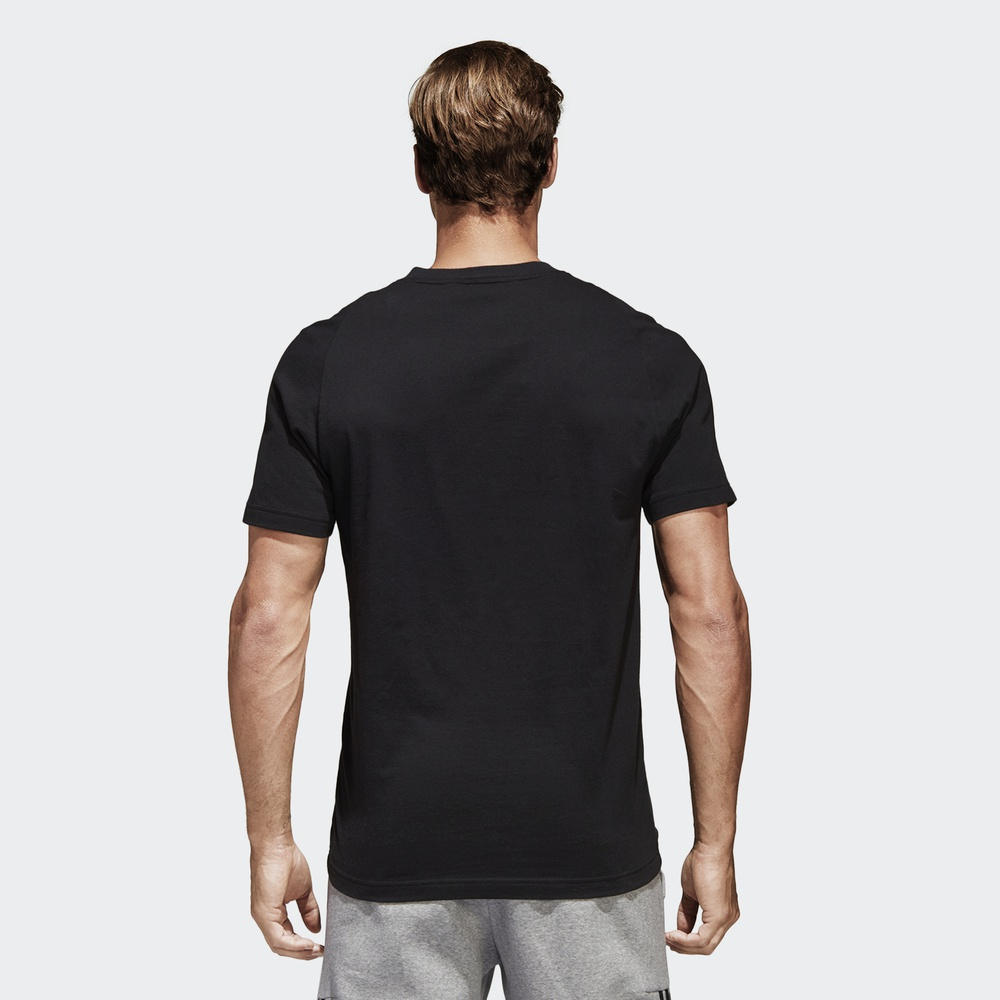 d9104a93287 Adidas official adidas SID BRANDED TEE men training short-sleeved T-shirt  BK3715