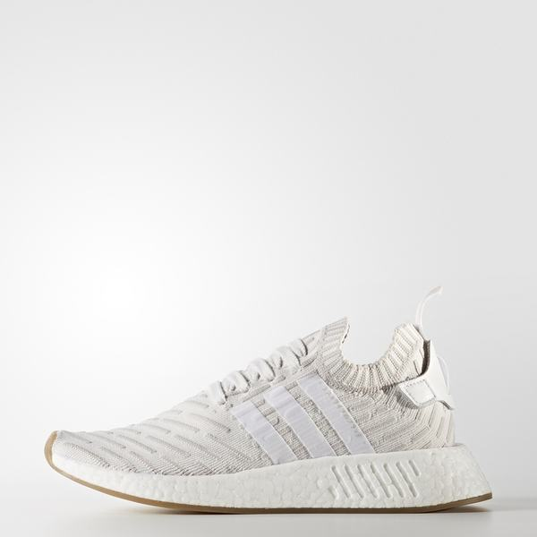 super popular d2322 1d4af Adidas official adidas clover NMD_R2 PK men and women classic shoes BY9953  BY9954