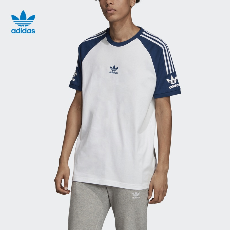 阿迪达斯官方 adidas 三叶草 ADICLLU SS T 男子短袖上衣FL8918
