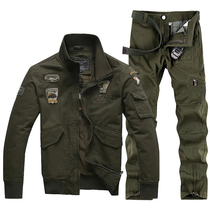 Outdoor military fan Special Forces male training camouflage uniform wear-resistant field fly