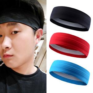 发带男 韩国头饰运动女跑步健身头巾男士发箍发卡运动头带