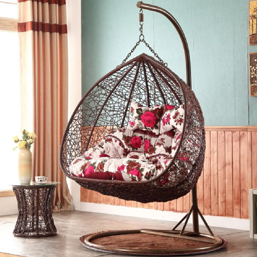 Hanging Basket Chair Hammock Indoor Family Single Double Cradle Chair  Hanging Chair Adult Birdu0027s Nest Swing Balcony Dormitory European