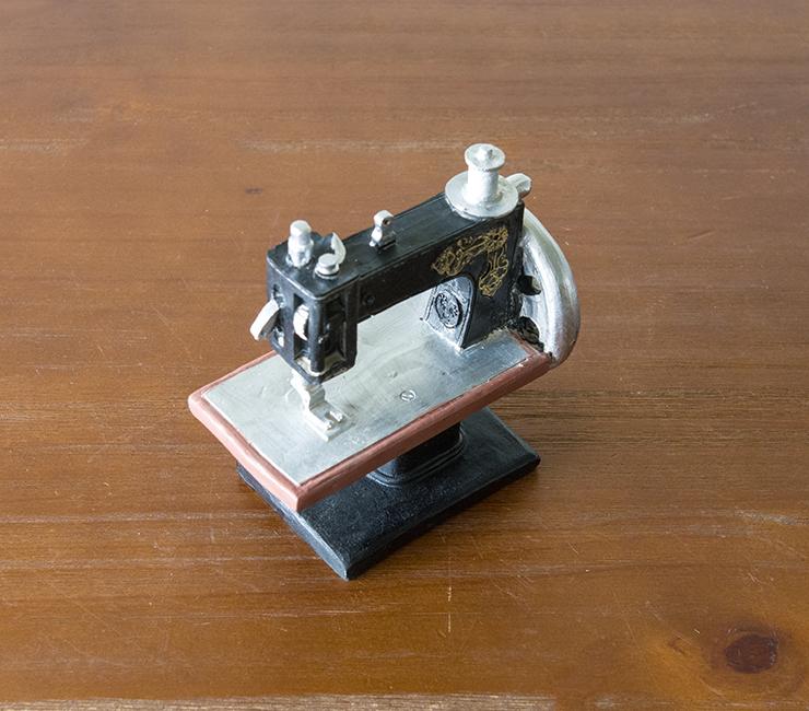 優生活~JK慕空間 復古鐵皮樹脂縫紉機裁縫機擺件 做舊模型拍攝道具擺件