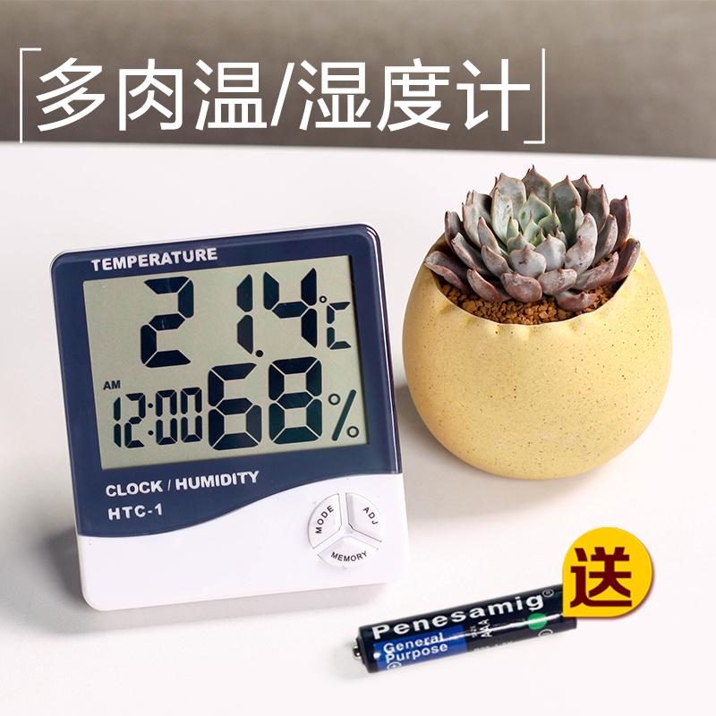 Суккуленты, мясистые инструменты для домашнего садоводства, интеллектуальный электронный термометр, гигрометр, многофункциональный большой экран