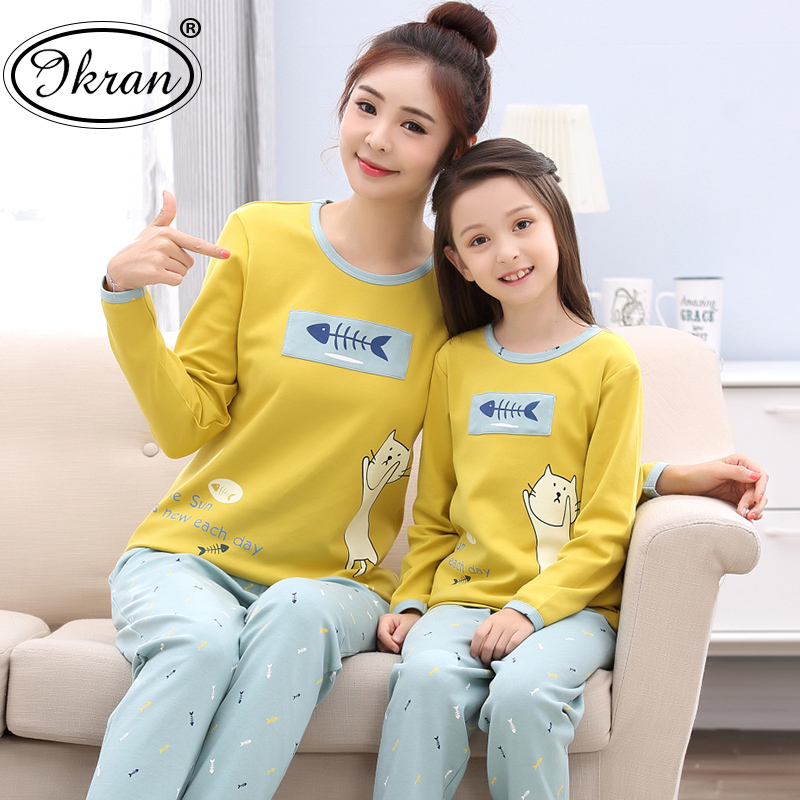 ... home service in the big boy suit  Share. Spring and autumn girls pajamas  long-sleeved cotton cartoon parent-child mother and Child 254c99fa1