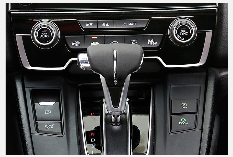 Cục nắm cần số và ốp gạt cần số Honda CR-V 2018 - 2019 - ảnh 14