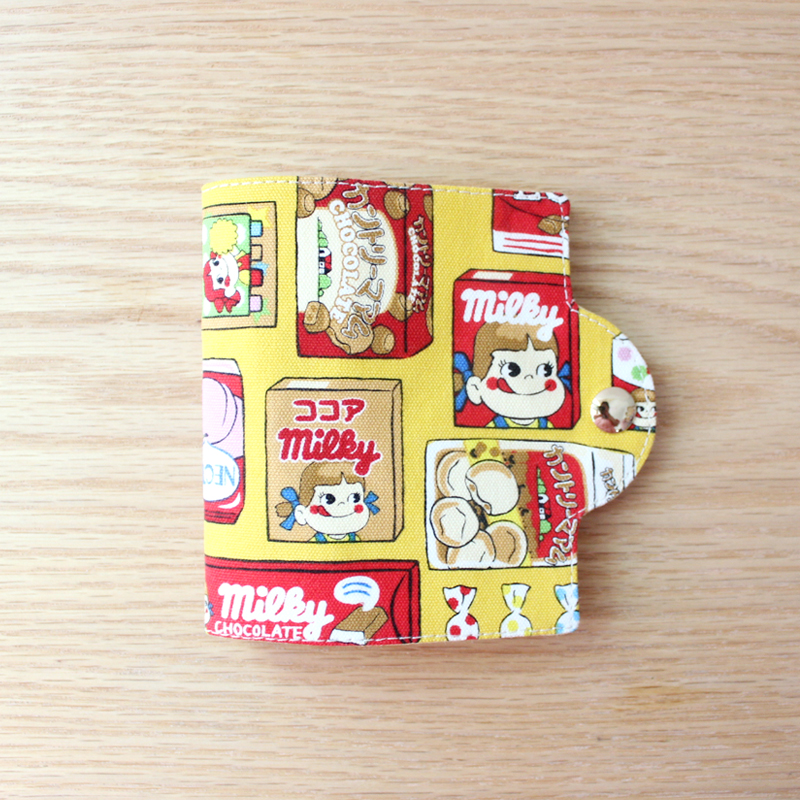 口罩收纳盒手工制作布艺儿童便携随身卡通可爱日本 暂存收纳套
