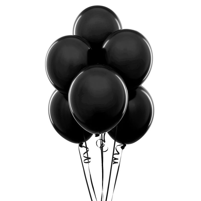 Цвет: Черный воздушный шар 6 в