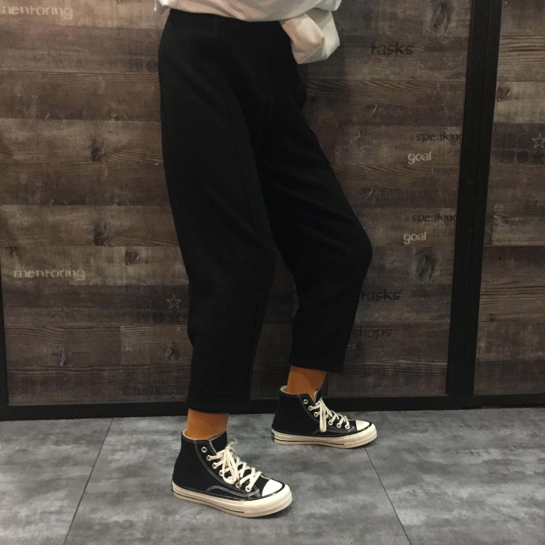 二棉鞋女加绒帆布鞋女高筒鞋子女新款百搭韩版学生板鞋女详细照片