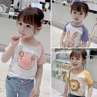 Children's short-sleeved T-shirts, boys' clothing, girls' half-sleeved shirts, big children's summer clothes, baby bottoming shirts, tops, children's cotton